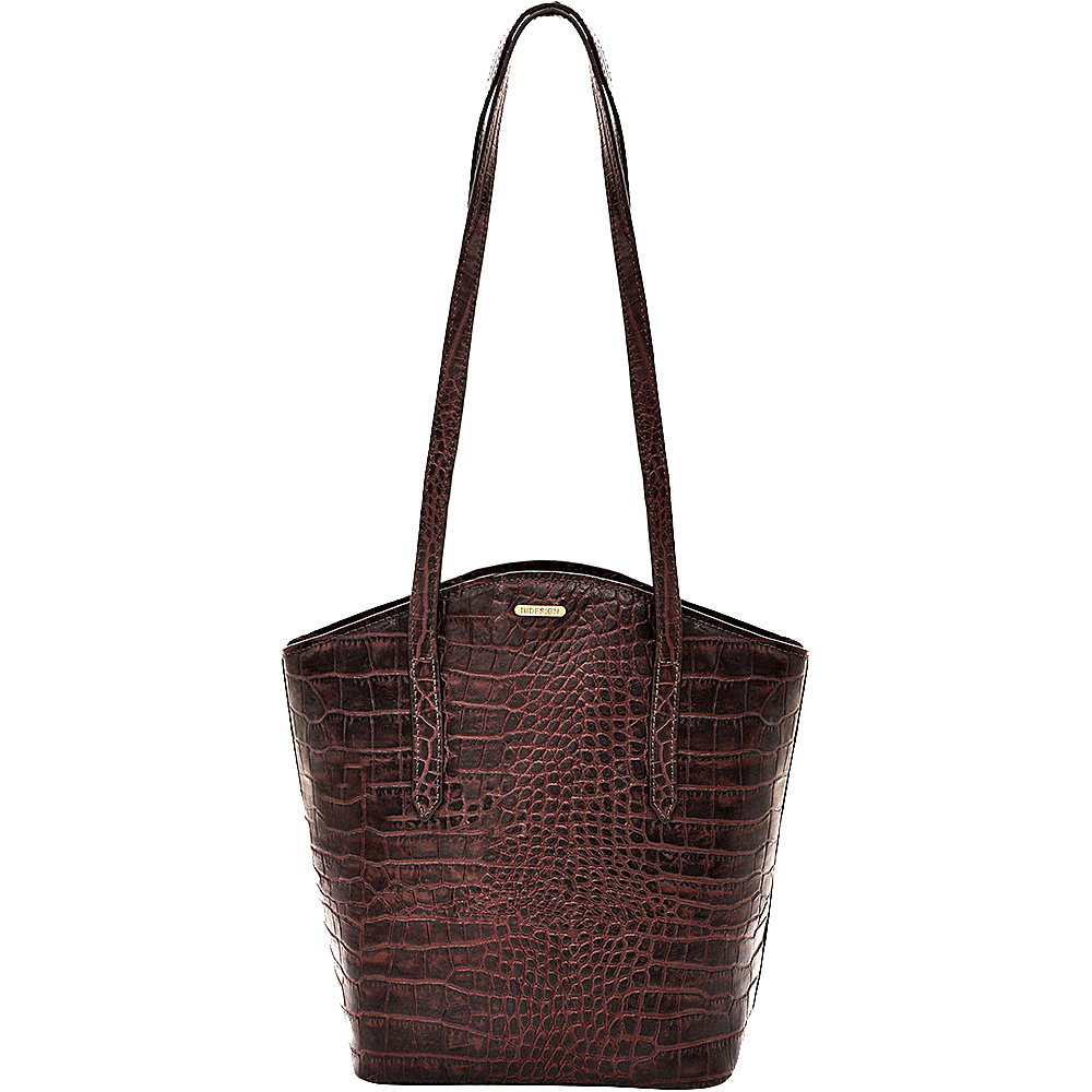 Hidesign Classic Bonn Handbag Brown Hidesign Leather Handbags