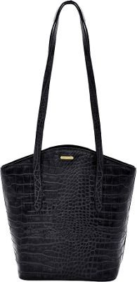 Hidesign Classic Bonn Handbag Black - Hidesign Leather Handbags