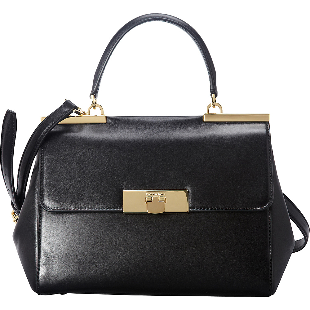 11eabf2e9af509 ... Nwt UPC 889154332898 product image for MICHAEL Michael Kors Marlow  Medium Satchel Black - MICHAEL Michael Kors