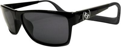 Hoven Vision MONIX Polarized Sunglasses Black Grey Checker Gloss/Grey - Hoven Vision Eyewear