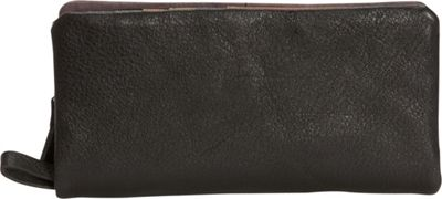 Journey Collection by Annette Ferber Barcelona Bifold Detachable Wallet Dark Brown - Journey Collection by Annette Ferber Women's Wallets