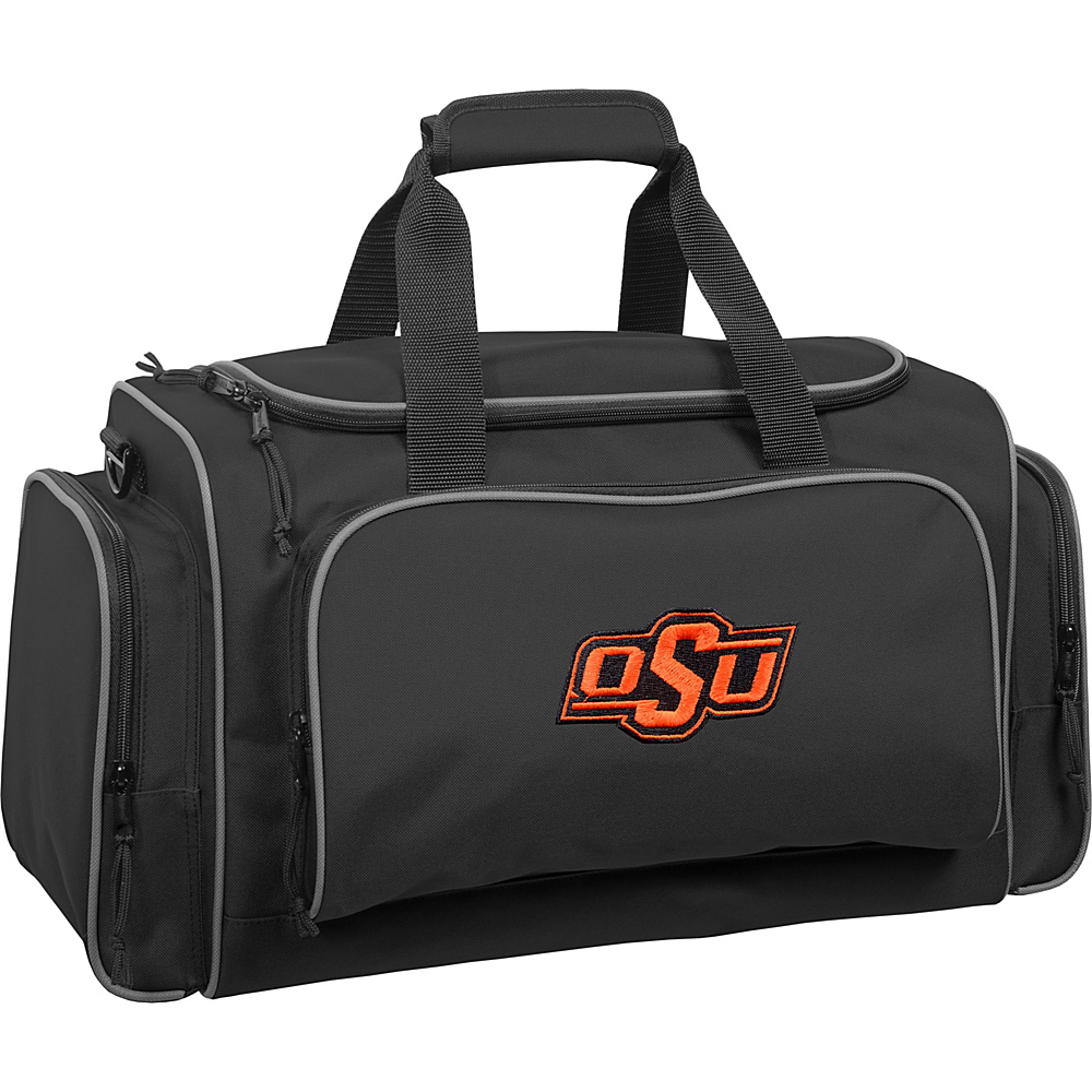 Wally Bags Oklahoma State Cowboys 21 Collegiate Duffel Black Wally Bags Rolling Duffels