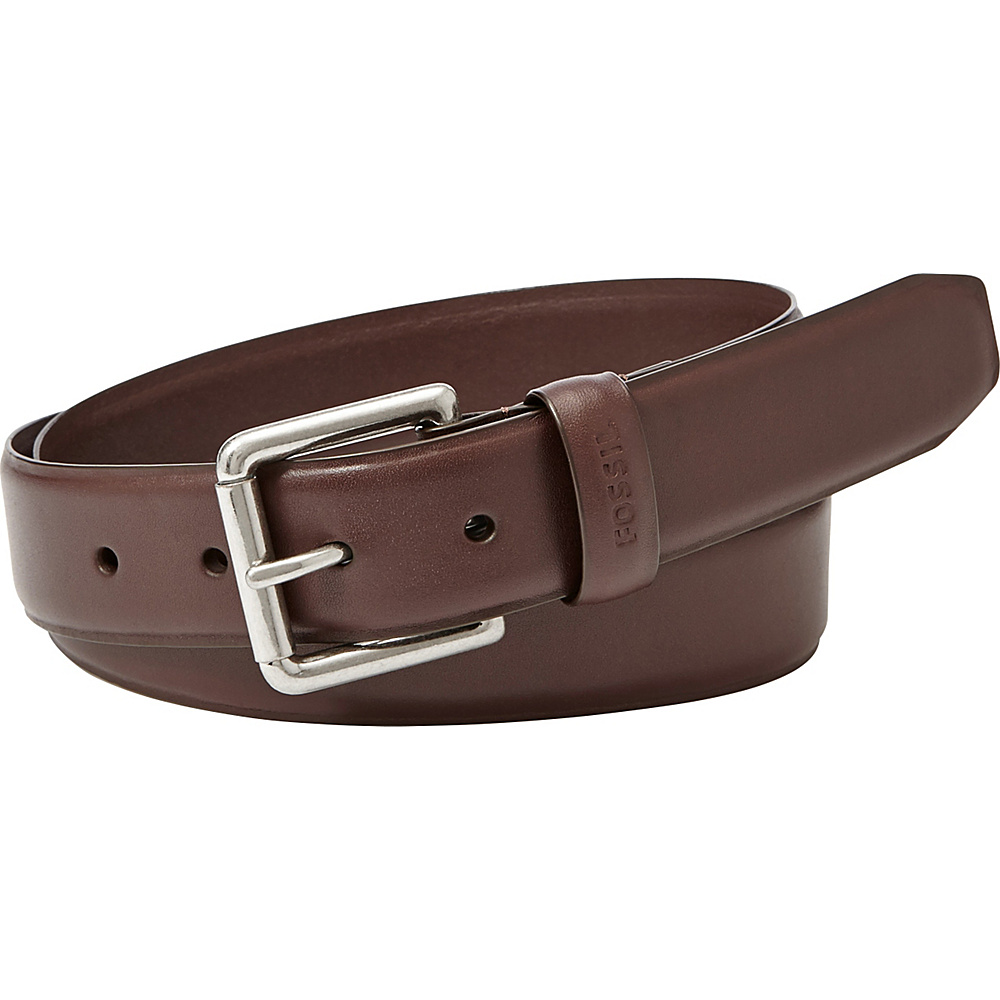 Fossil Bison Series Belt 36 - Dark Brown - Fossil Belts - Fashion Accessories, Belts