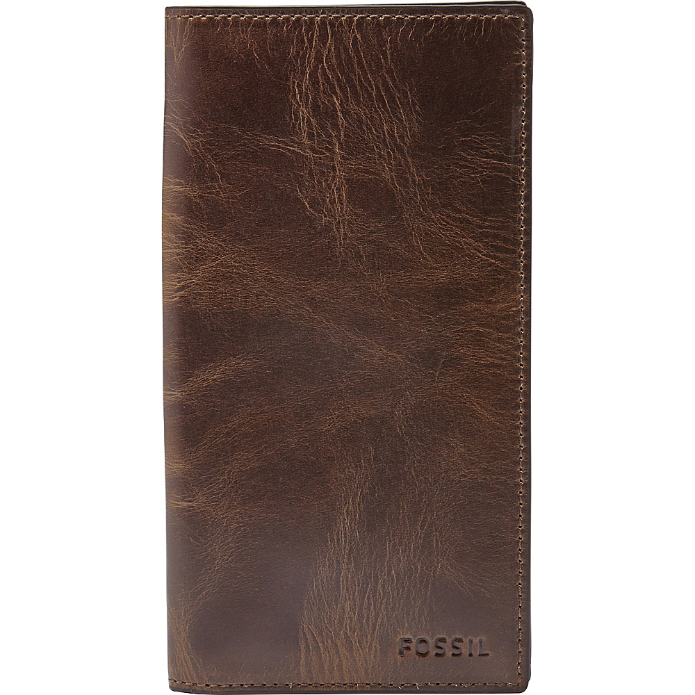 Fossil Derrick Executive Wallet Dark Brown - Fossil Mens Wallets - Work Bags & Briefcases, Men's Wallets
