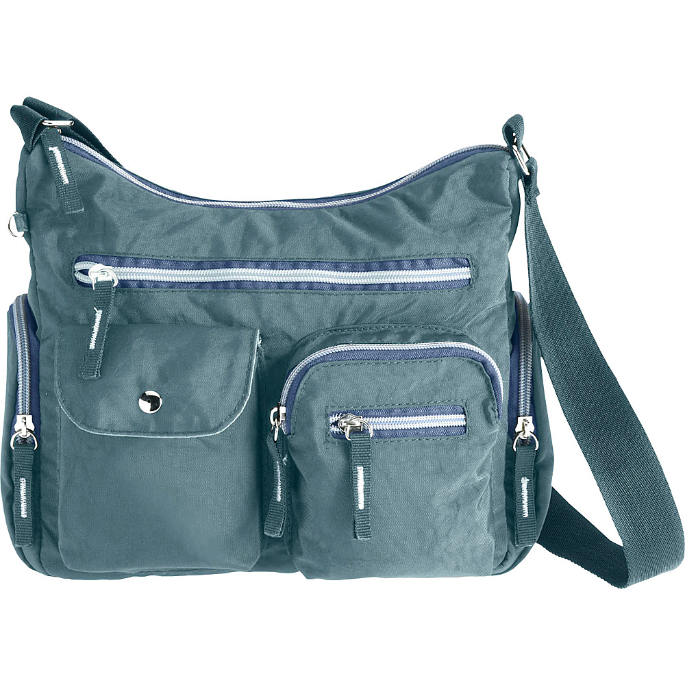 High Road AnyDay Pocket Satchel Travel Bag Slate High Road Fabric Handbags