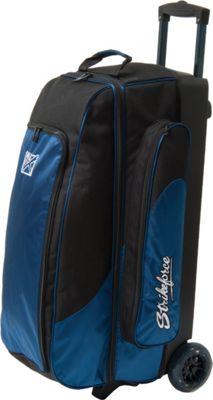 KR Strikeforce Bowling Cruiser Smooth Triple Roller Bag Midnight - KR Strikeforce Bowling Bowling Bags