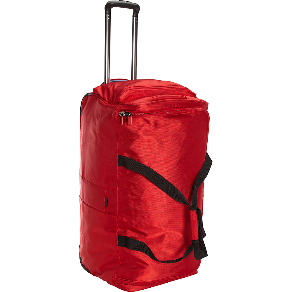 Delsey Helium Sky 2.0 28 Trolley Duffel Red Delsey Travel Duffels