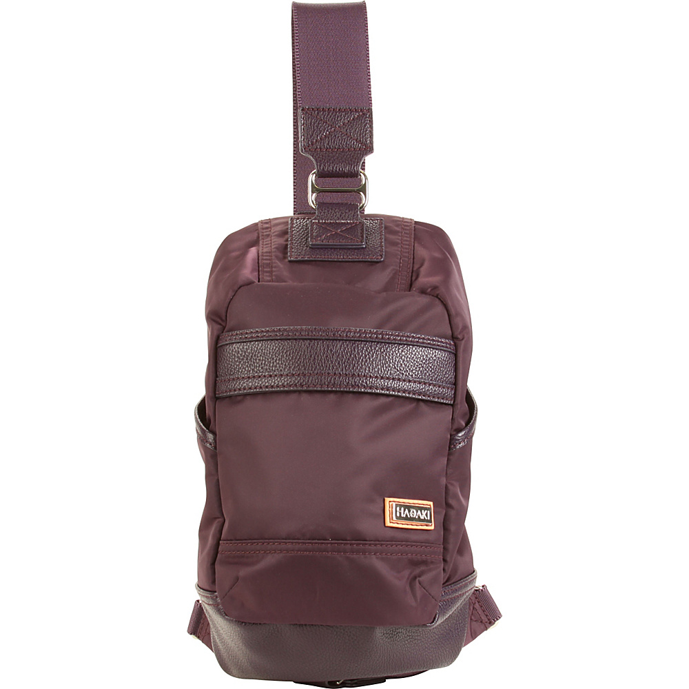 Hadaki Urban Sling Plum Perfect Solid - Hadaki Everyday Backpacks - Backpacks, Everyday Backpacks