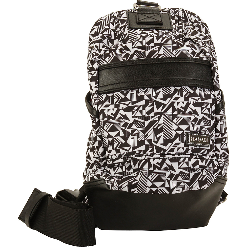 Hadaki Urban Sling Black & White - Hadaki Everyday Backpacks - Backpacks, Everyday Backpacks