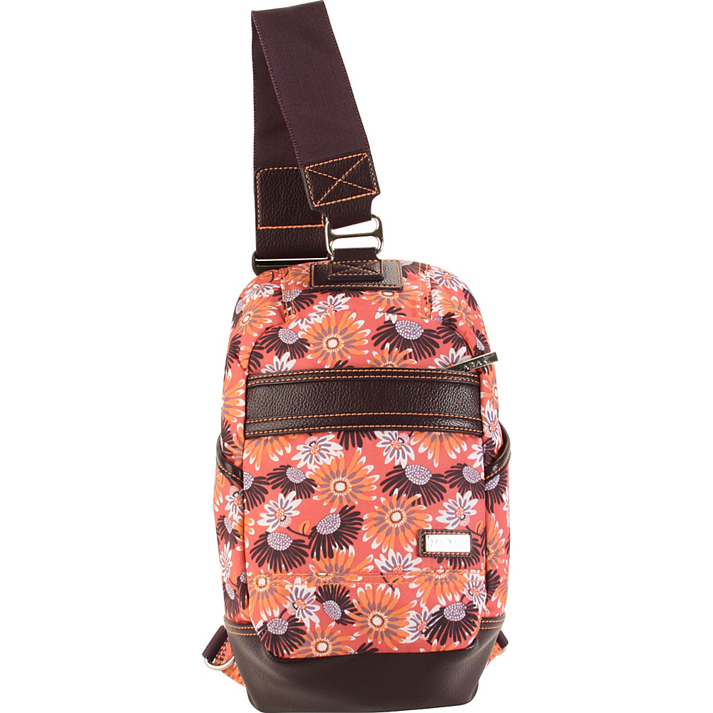 Hadaki Urban Sling Daisies - Hadaki Everyday Backpacks - Backpacks, Everyday Backpacks