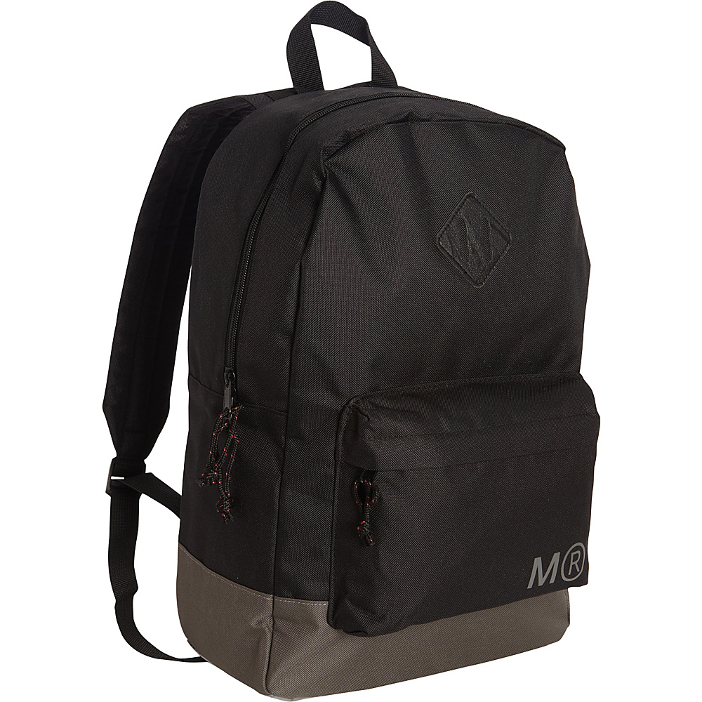 Miquelrius Black Tone on Tone Large Backpack Black Tone Miquelrius Everyday Backpacks