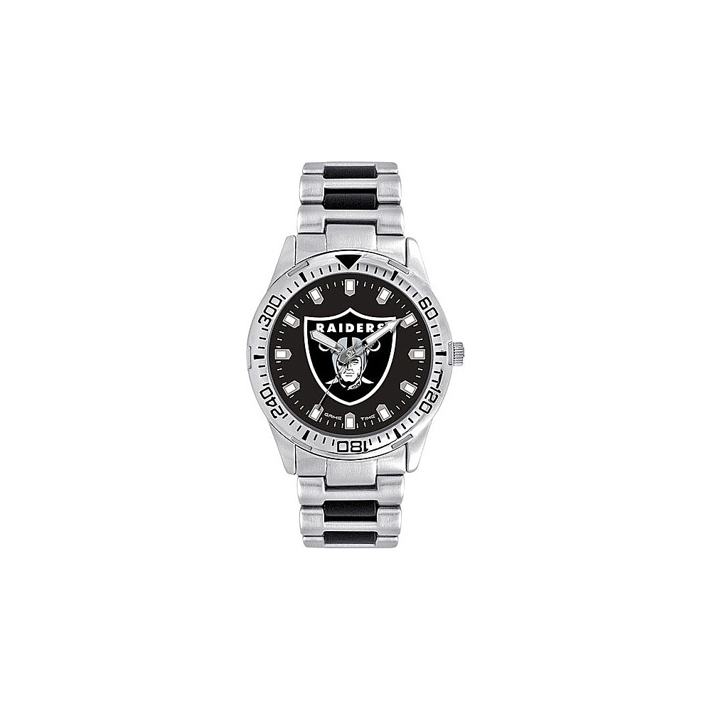 Game Time Heavy Hitter NFL Watch Oakland Raiders - Game Time Watches - Fashion Accessories, Watches