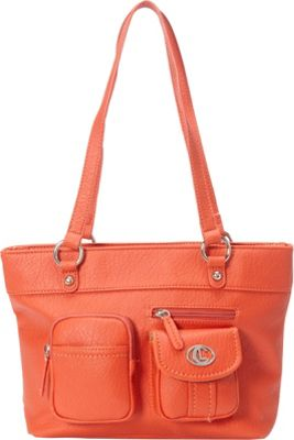 Image of Aurielle-Carryland Bernina Tote Poppy - Aurielle-Carryland Manmade Handbags