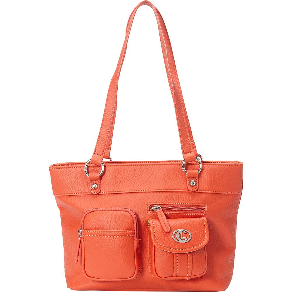 Aurielle Carryland Bernina Tote Poppy Aurielle Carryland Manmade Handbags