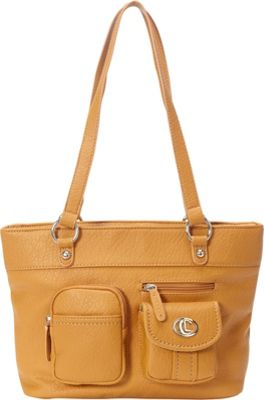 Image of Aurielle-Carryland Bernina Tote Tan - Aurielle-Carryland Manmade Handbags