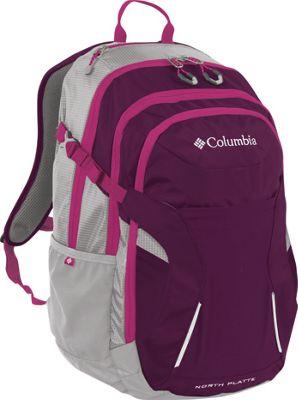 Columbia Sportswear North Platte Day Pack Dark Raspberry - Columbia Sportswear Business & Laptop Backpacks