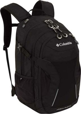 Columbia Sportswear North Platte Day Pack Black - Columbia Sportswear Business & Laptop Backpacks