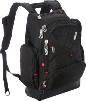 ful 19.5 inch Refugee Laptop Backpack Black - ful Business & Laptop Backpacks