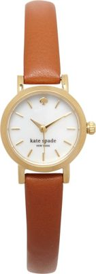kate spade watches Tiny Gramercy Watch Brown - kate spade watches Watches
