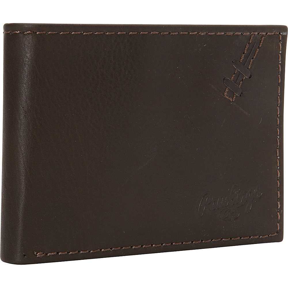 Rawlings Legacy Pass Case Brown Rawlings Men s Wallets