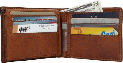 Rawlings Rugged Flipfold Wallet Cognac - Rawlings Men's Wallets