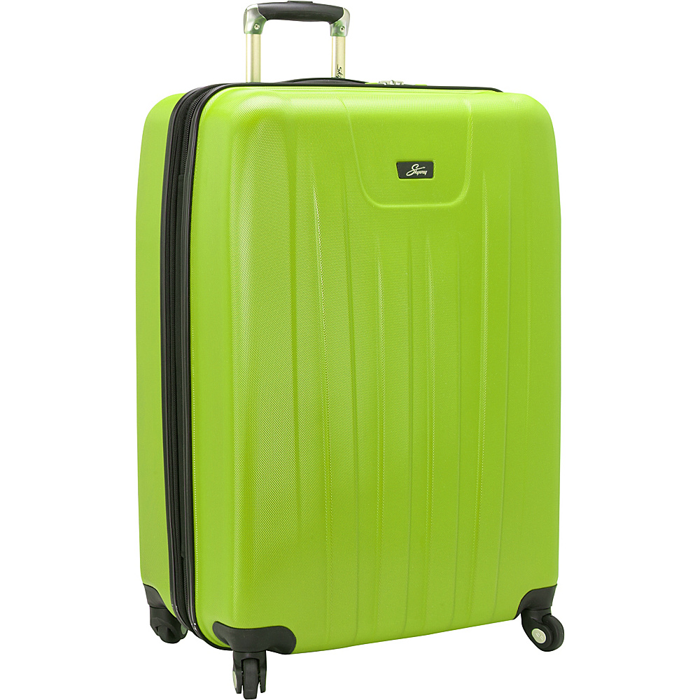 Skyway Nimbus 2.0 28 4 Wheel Expandable Upright Apple Green Skyway Hardside Checked