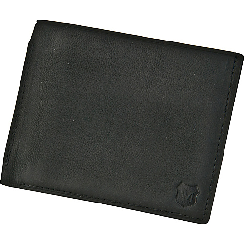 Andrew Marc Collection Sheridan Slimfold Black - Andrew Marc Collection Mens Wallets