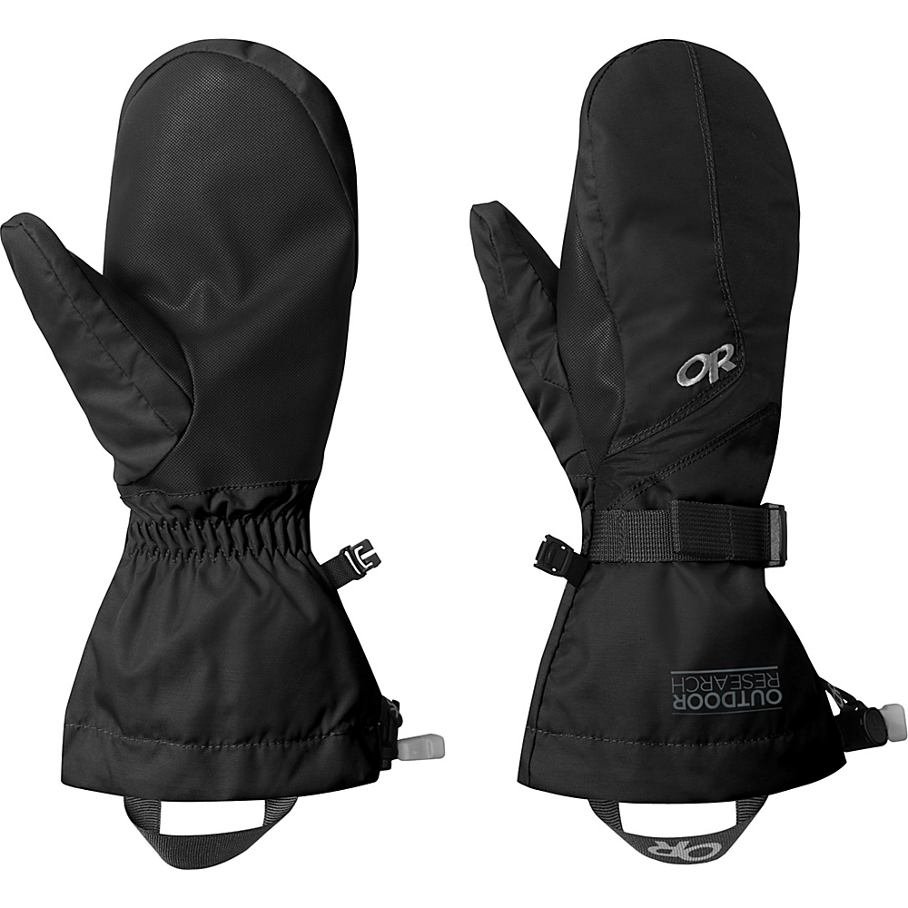 Outdoor Research Adrenaline Mitts L - Black - Outdoor Research Hats/Gloves/Scarves - Fashion Accessories, Hats/Gloves/Scarves