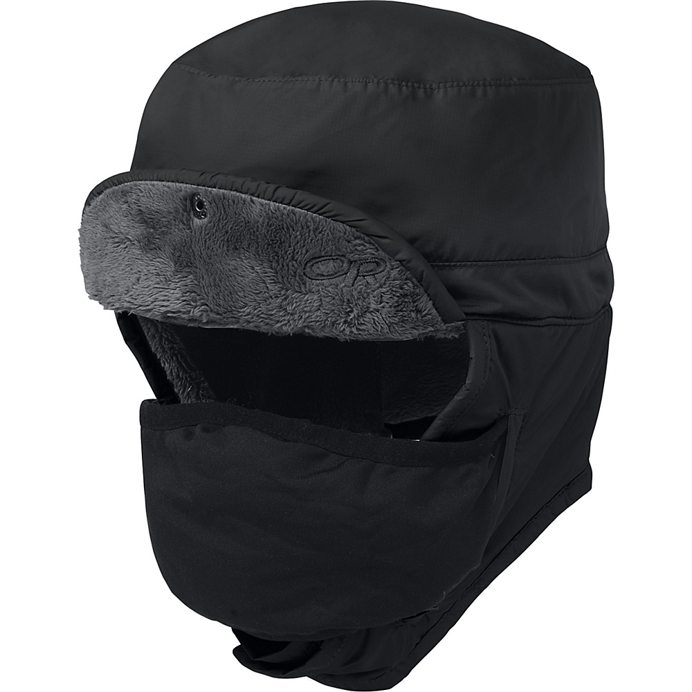 Outdoor Research Frostline Hat L - Black - Outdoor Research Hats/Gloves/Scarves - Fashion Accessories, Hats/Gloves/Scarves