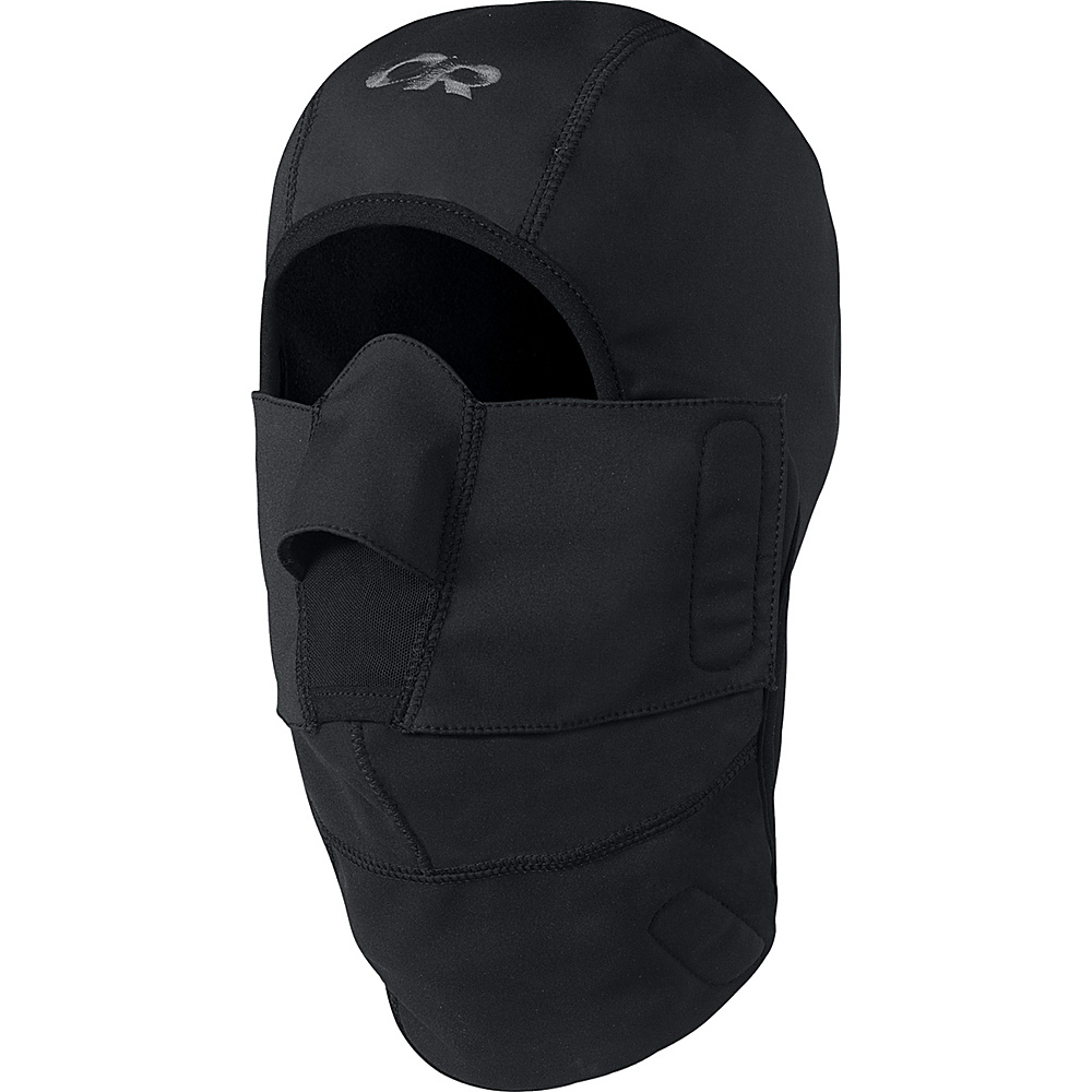 Outdoor Research WS Gorilla Balaclava M - Black - Outdoor Research Hats/Gloves/Scarves - Fashion Accessories, Hats/Gloves/Scarves