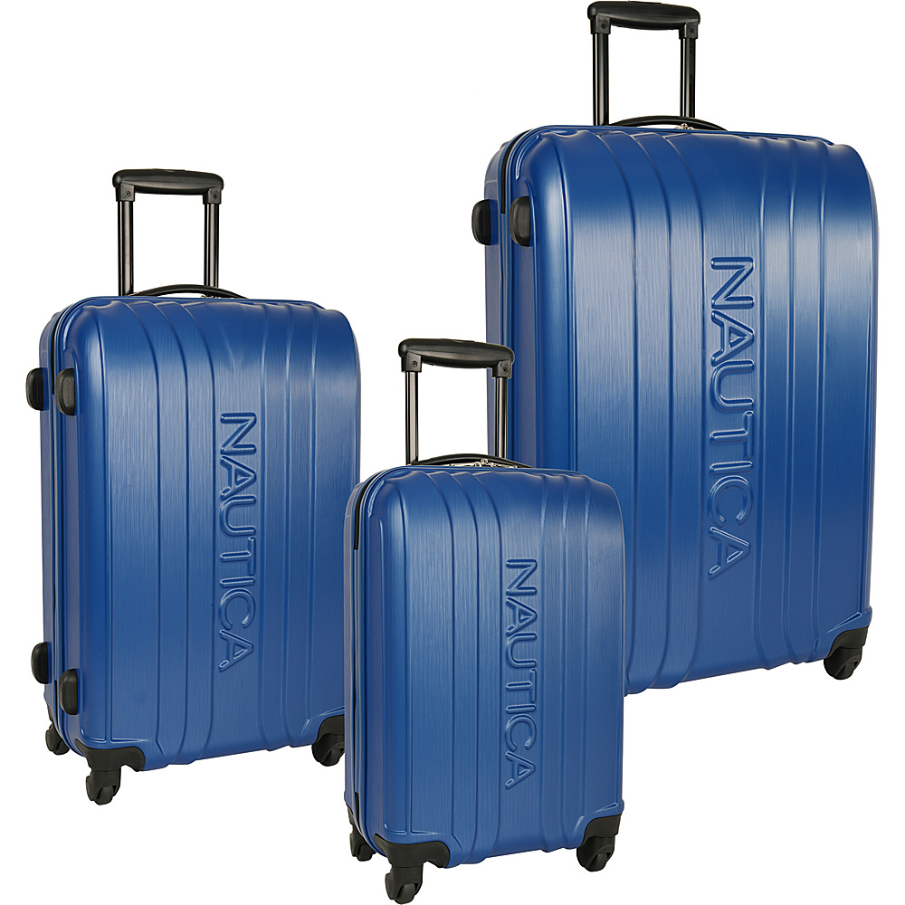 Nautica True Winds Three Piece Set True Blue - Nautica Luggage Sets