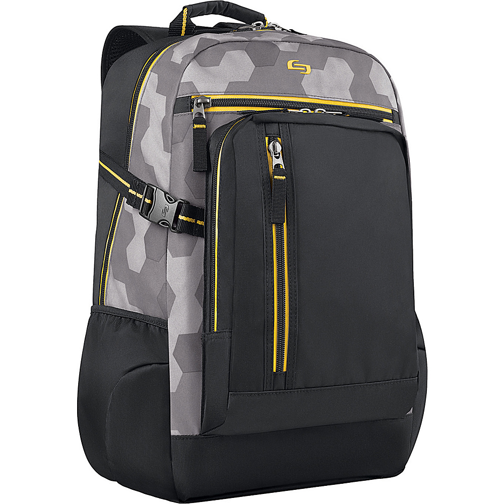 SOLO Quantum 15.6 Backpack Yellow SOLO Business Laptop Backpacks