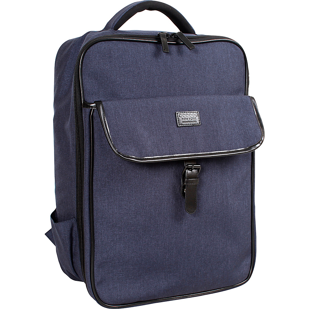 J World New York Class Laptop Backpack Navy - J World New York Business & Laptop Backpacks - Backpacks, Business & Laptop Backpacks