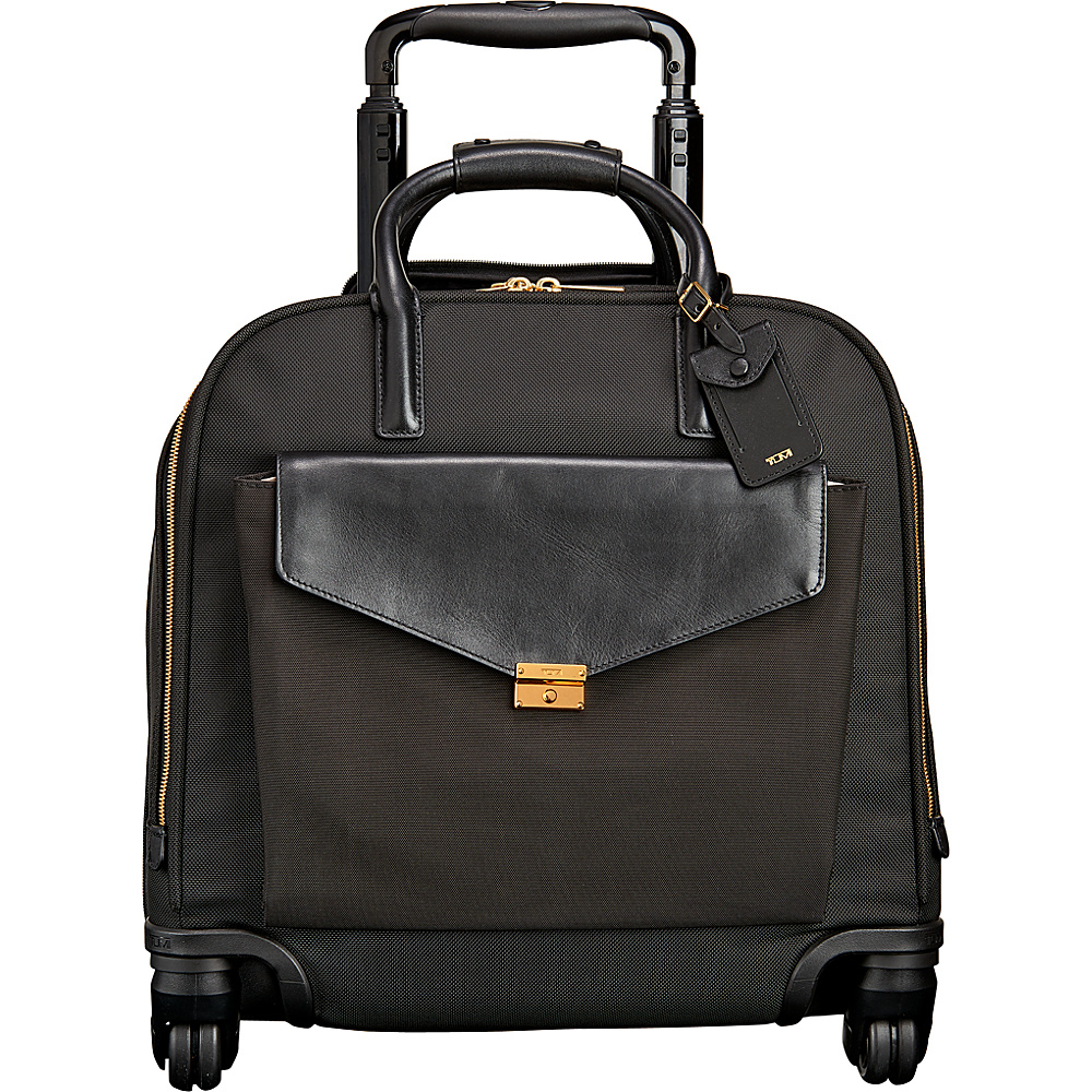 Tumi Larkin SoMa Wheeled Brief Black Tumi Wheeled Business Cases