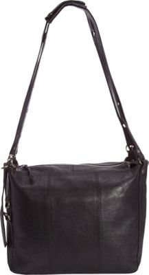 Latico Leathers Renwick Shoulder Bag Black - Latico Leathers Leather Handbags