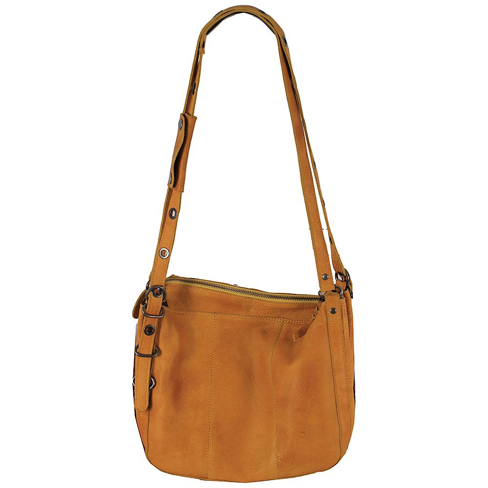 Latico Leathers Renwick Shoulder Bag Yellow - Latico Leathers Leather Handbags - Handbags, Leather Handbags