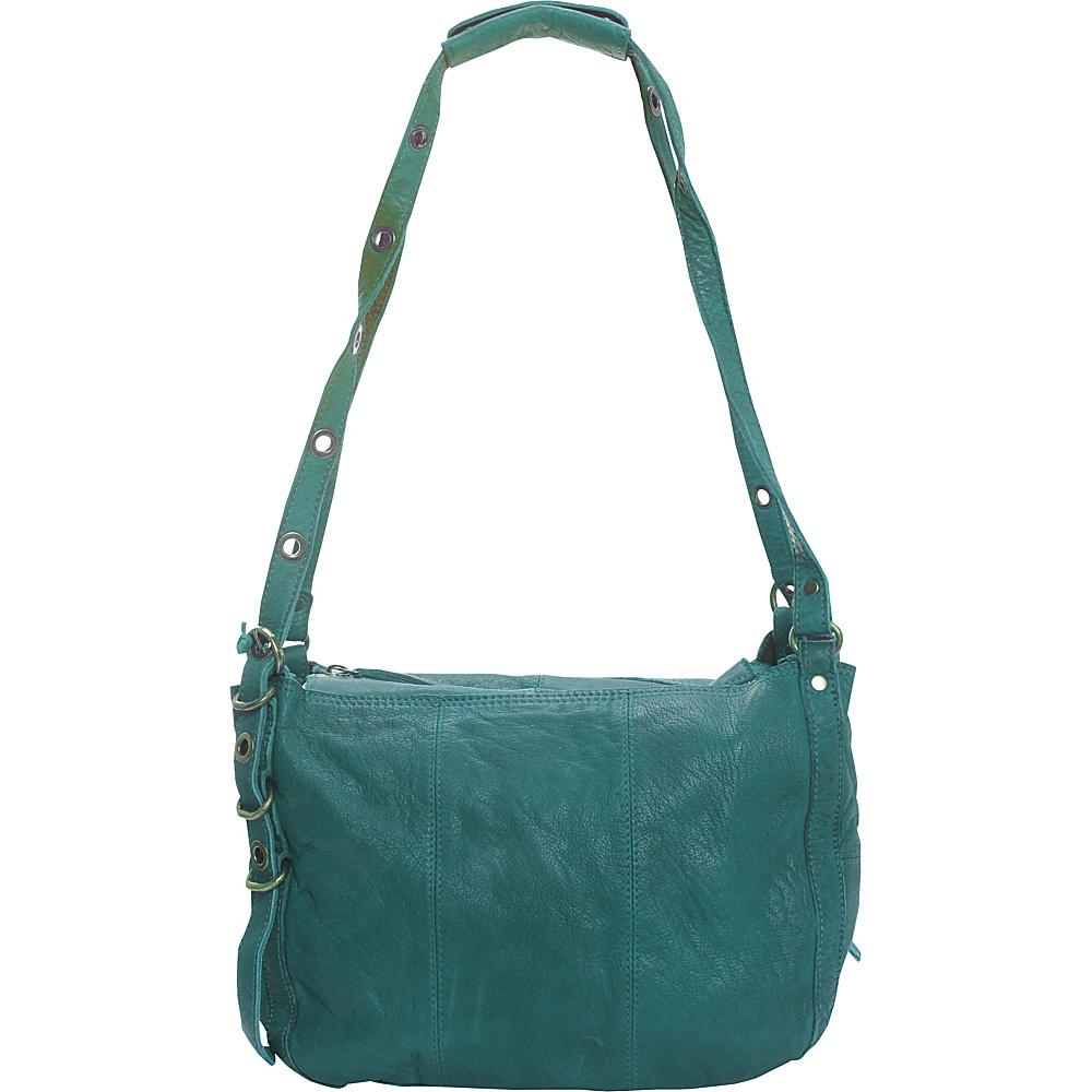 Latico Leathers Renwick Shoulder Bag Mint - Latico Leathers Leather Handbags - Handbags, Leather Handbags