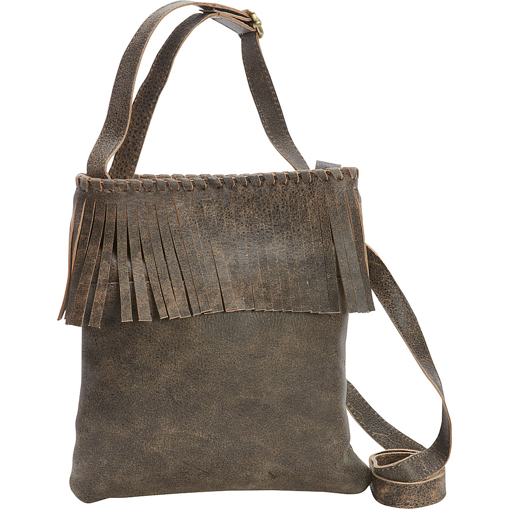 Latico Leathers Vestry Crossbody Distressed Brown - Latico Leathers Leather Handbags - Handbags, Leather Handbags