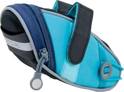 Detours Wedgie Seat Bag - Medium Teal - Detours Cycling Bags