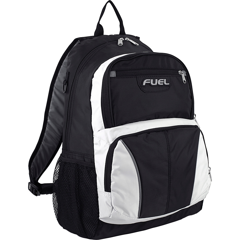 Fuel Pursuit Backpack Black amp; White Fuel Everyday Backpacks