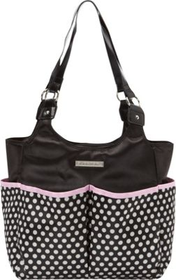 Smart Mommy Bags Classy Sassy Black and White Polka Dot Diaper Bag Black and White - Smart Mommy Bags Diaper Bags & Accessories