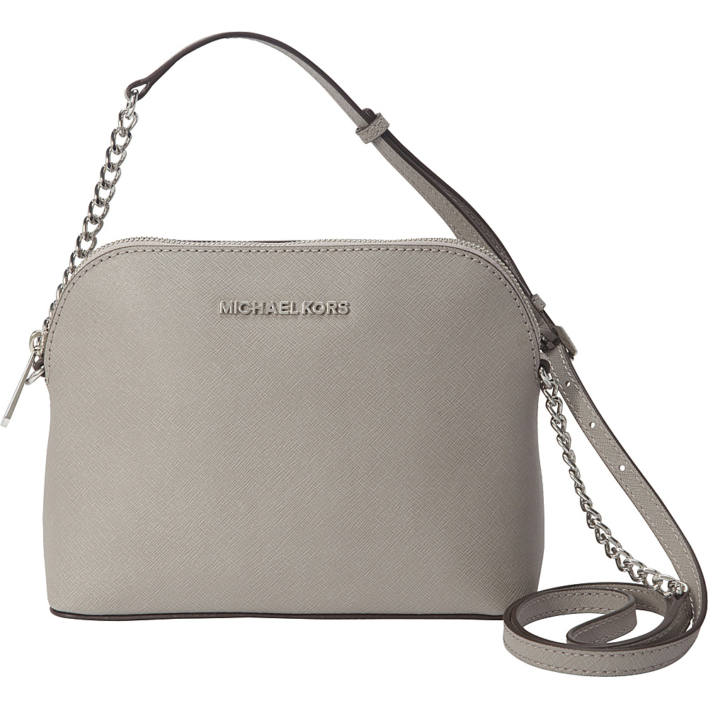 88df2321dbf8 ... UPC 888235978772 product image for MICHAEL Michael Kors Cindy Large  Dome Crossbody Pearl Grey - MICHAEL ...