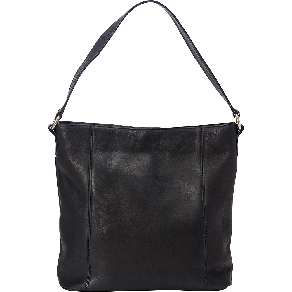 Le Donne Leather Ashley Shopper Black - Le Donne Leather Leather Handbags - Handbags, Leather Handbags