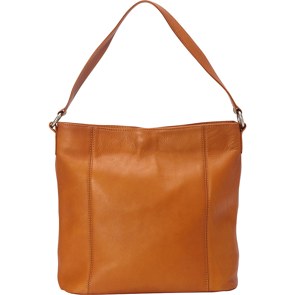 Le Donne Leather Ashley Shopper Tan - Le Donne Leather Leather Handbags - Handbags, Leather Handbags