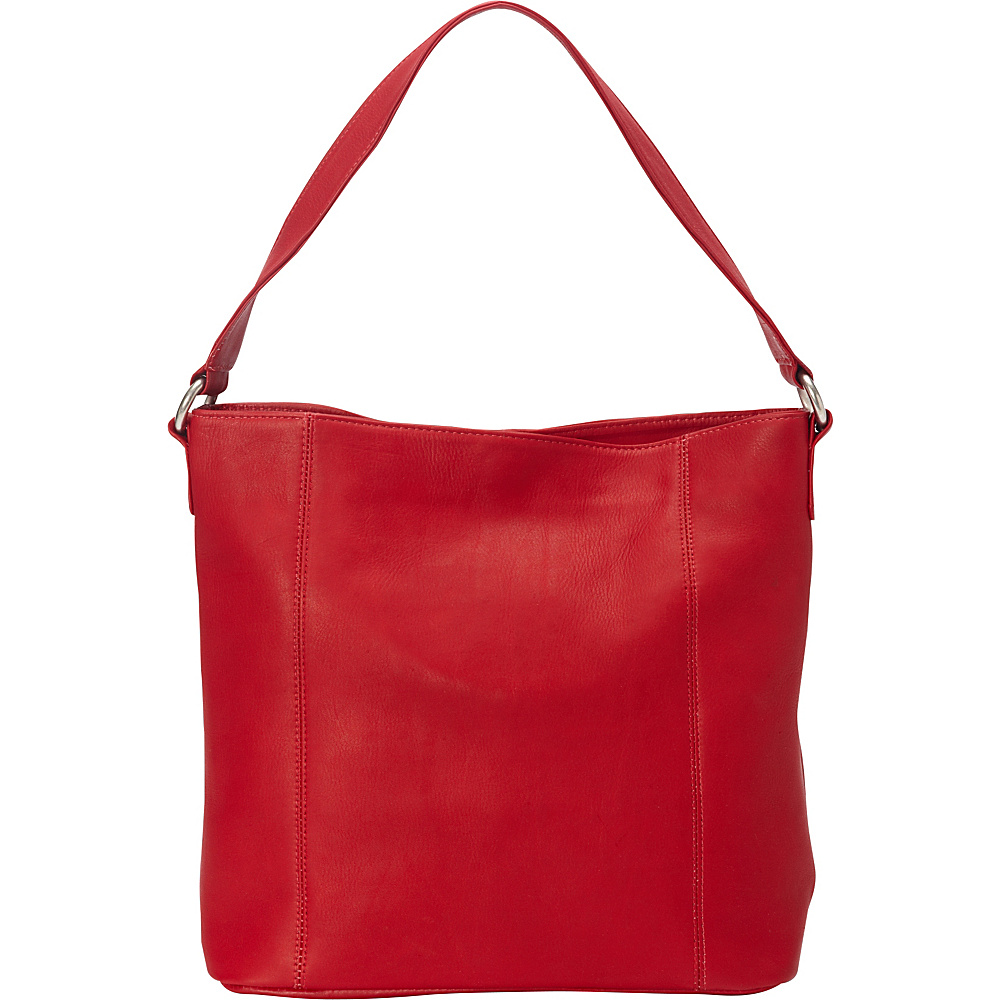 Le Donne Leather Ashley Shopper Red - Le Donne Leather Leather Handbags - Handbags, Leather Handbags
