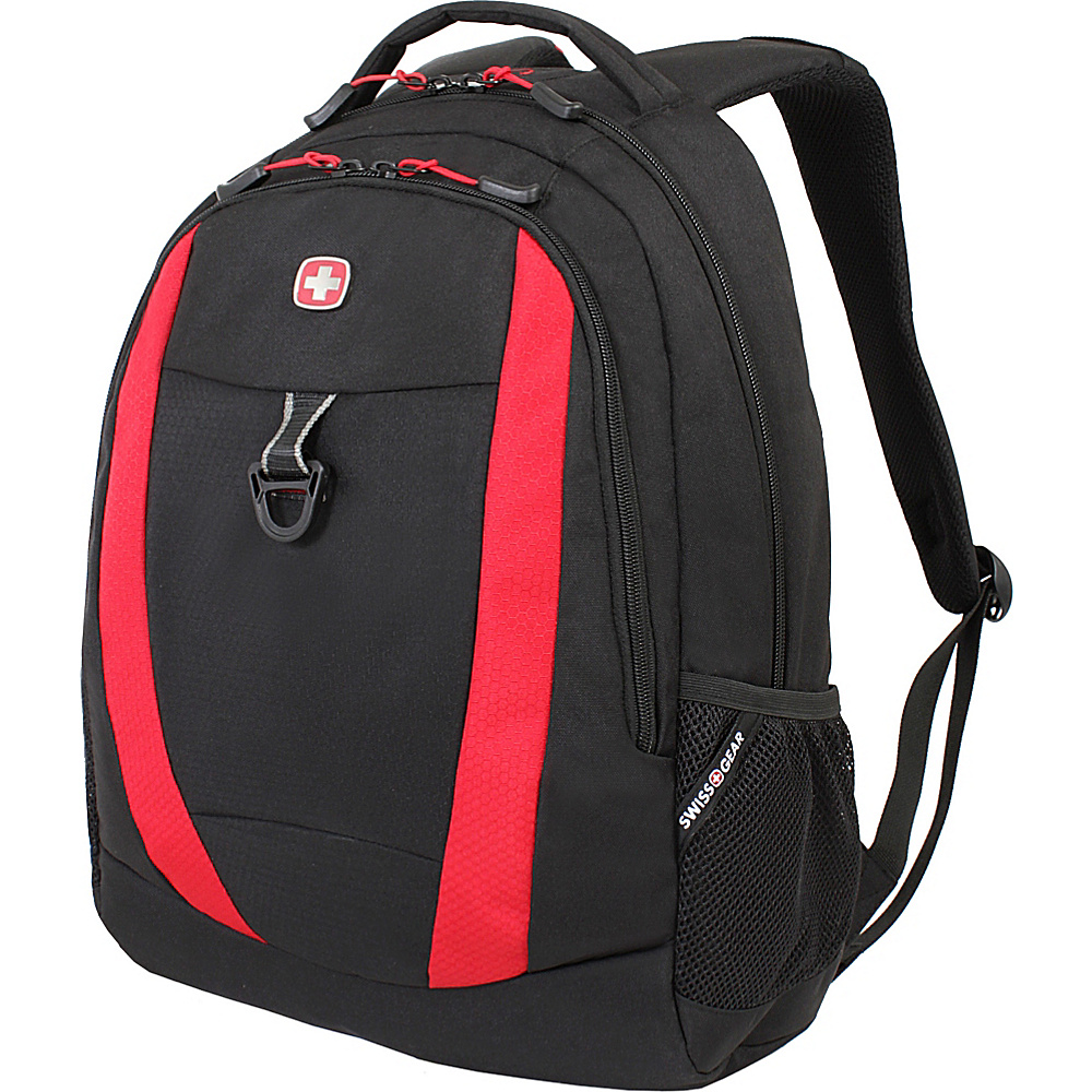 SwissGear Travel Gear 18 Backpack 6969 Black Red Course SwissGear Travel Gear Everyday Backpacks