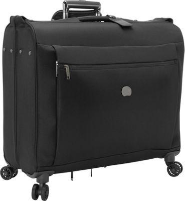 Delsey Montmartre+ Spinner Trolley Garment Bag Black - Delsey Garment Bags