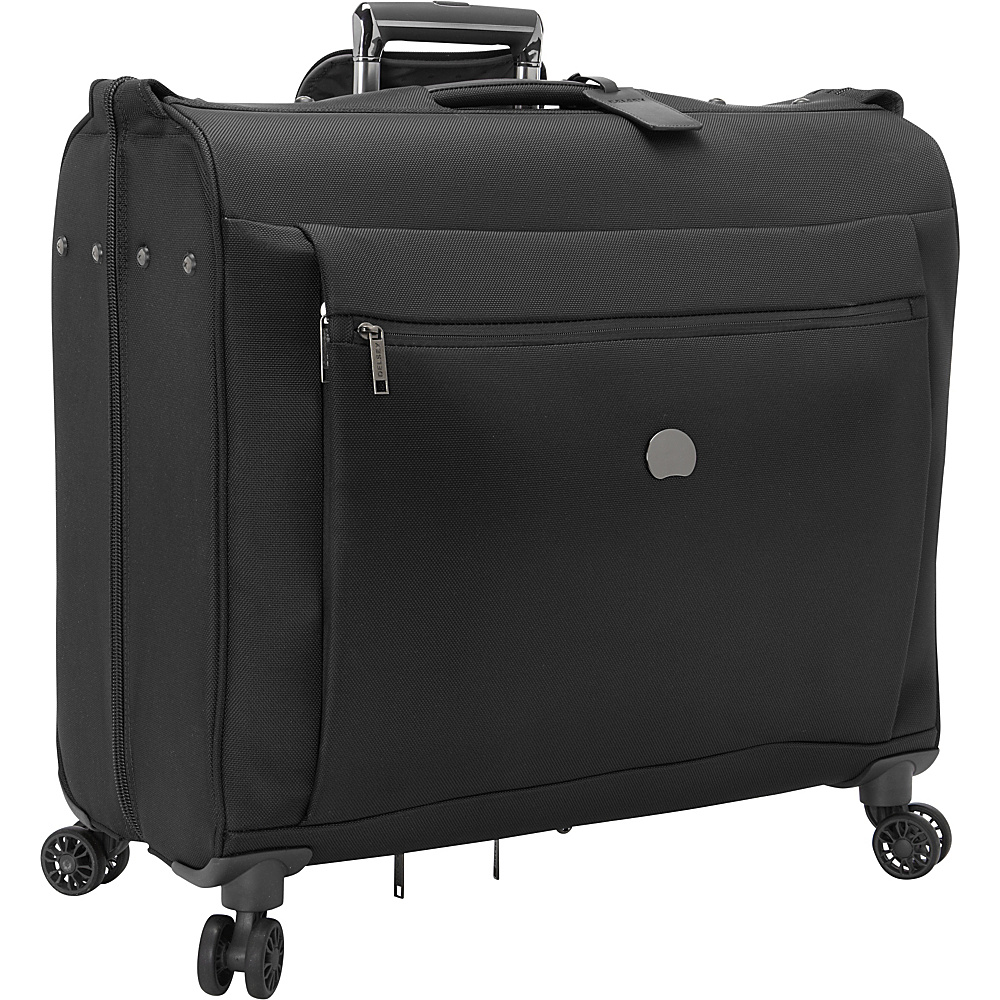 Delsey Montmartre Spinner Trolley Garment Bag Black Delsey Garment Bags