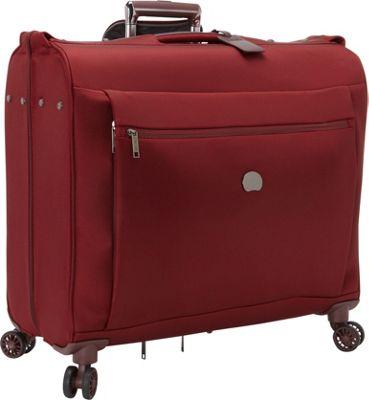 Delsey Montmartre+ Spinner Trolley Garment Bag Bordeaux - Delsey Garment Bags