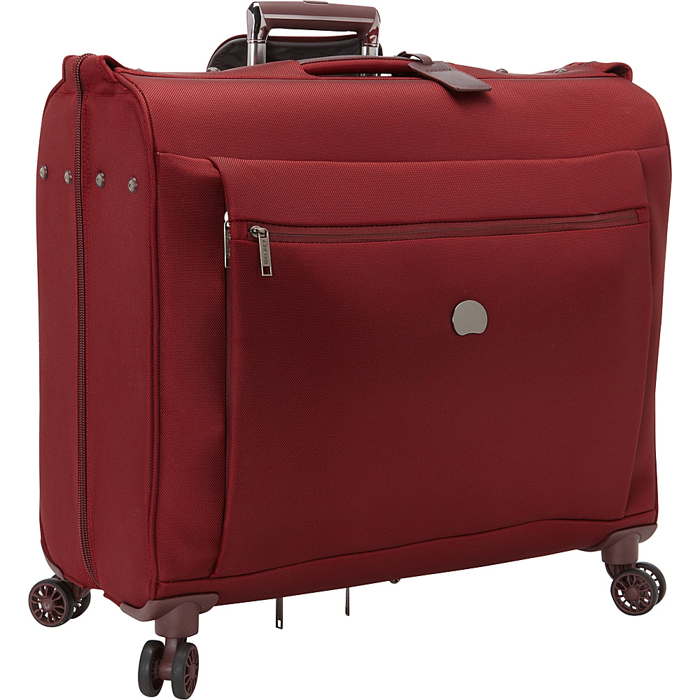 Delsey Montmartre Spinner Trolley Garment Bag Bordeaux Delsey Garment Bags